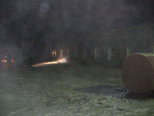 Пожар в омском интернате для взрослых (ФОТО)