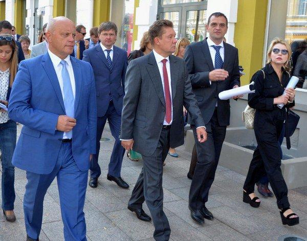 Рабочая встреча Виктора Назаров с главой Газпрома Алексеем Миллером